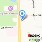 Форт на карте Кирова
