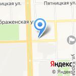 Отдел судебных приставов по Октябрьскому району на карте Кирова