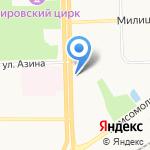 Росс-Тур на карте Кирова