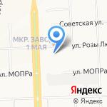 Моя деревенька на карте Кирова