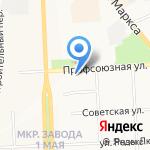 AUTO-START 43 на карте Кирова