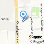 Каскад на карте Кирова