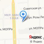 Оптово-розничный магазин обуви и трикотажа на карте Кирова