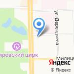 Кировпроект на карте Кирова