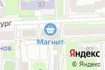 Схема проезда до компании Киоск по продаже овощей и фруктов в Кирове