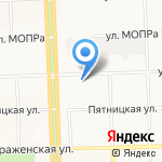 Кот в сапогах на карте Кирова