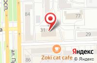 Схема проезда до компании Ак Кирмэн в Кирове