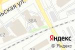 Схема проезда до компании Комфорт в Кирове