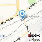 Горьковская дирекция по управлению терминально-складским комплексом на карте Кирова