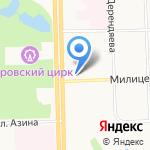 Магазин инструментов на карте Кирова