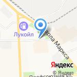 Русалка на карте Кирова