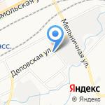 Квинт на карте Кирова