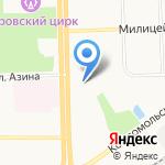 ИнвестТрейдСервис на карте Кирова