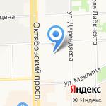 Департамент образования на карте Кирова