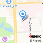 Кировский центр крови на карте Кирова