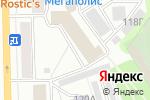 Схема проезда до компании Город спорта в Кирове