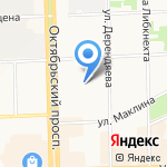 Кировский технологический колледж пищевой промышленности на карте Кирова