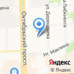 Металлкомплект на карте Кирова