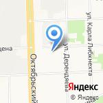 Два Крыла на карте Кирова