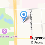 Центр занятости населения г. Кирова на карте Кирова