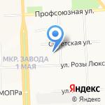 Ювента на карте Кирова