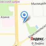 МЕГАПОЛИС на карте Кирова