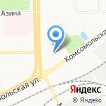 Автоскол на карте Кирова