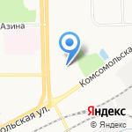 Спортивный центр на карте Кирова