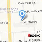 Военная комендатура г. Кирова на карте Кирова