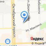 Фирма Гражданстрой на карте Кирова