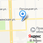 Народная касса на карте Кирова