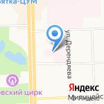 Кировская городская больница №9 на карте Кирова