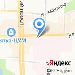 Шоколадoff на карте Кирова