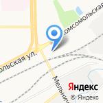 Отделение Пенсионного фонда РФ по Кировской области на карте Кирова