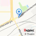 Фортуна-2 на карте Кирова