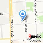 Детский сад №31 на карте Кирова