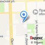 Кировский областной суд на карте Кирова