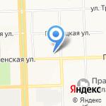 Ритм на карте Кирова