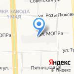 Золотая Рыбка на карте Кирова