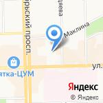 Кировская областная нотариальная палата на карте Кирова