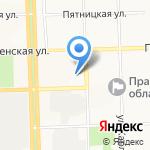 Сбербанк Лизинг на карте Кирова