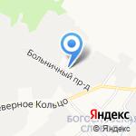 Передвижная механизированная колонна-411 на карте Кирова