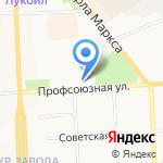 Оля-ля на карте Кирова