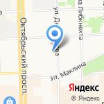 Деловой клуб на карте Кирова