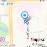 Кировский НИИ гематологии и переливания крови на карте Кирова