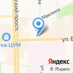 Юридическое бюро №1 на карте Кирова