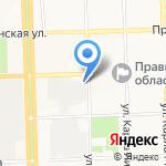 Заводская на карте Кирова