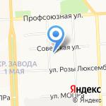 Инсис на карте Кирова
