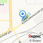 Охотник и рыболов на карте Кирова