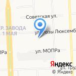 Лина на карте Кирова